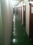 No interior do depósito de nitratos