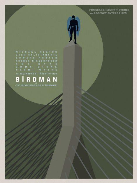 Birdman-Official-Poster-Minimalist 01