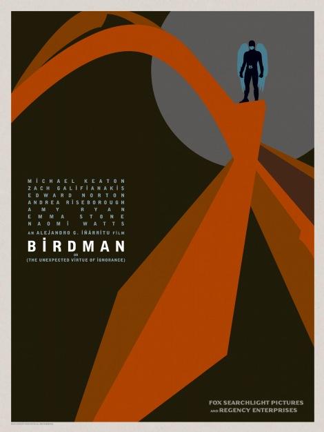 Birdman-Official-Poster-Minimalist 02