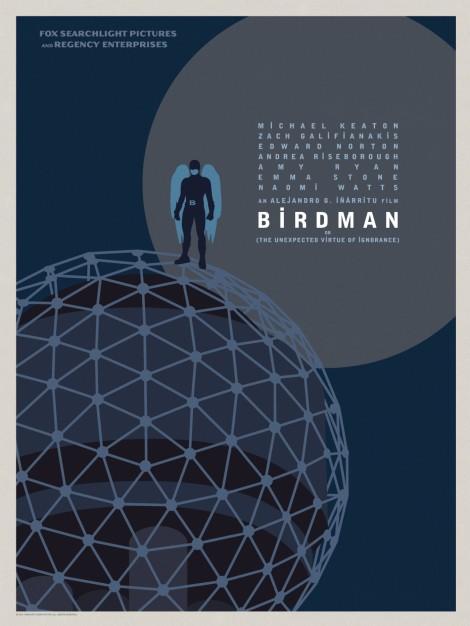 Birdman-Official-Poster-Minimalist 03