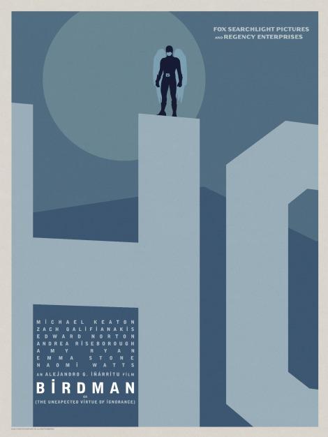 Birdman-Official-Poster-Minimalist 04