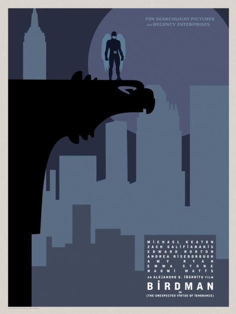 Birdman-Official-Poster-Minimalist 05