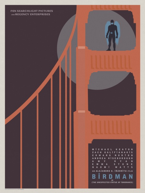 Birdman-Official-Poster-Minimalist 06