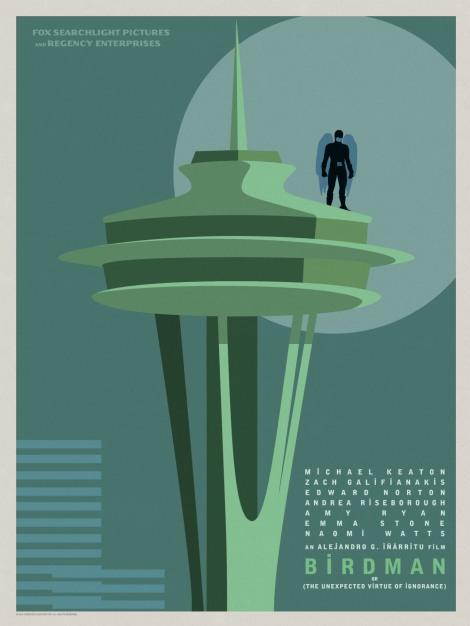 Birdman-Official-Poster-Minimalist 07