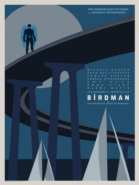 Birdman-Official-Poster-Minimalist 08