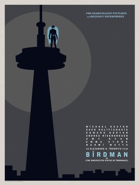 Birdman-Official-Poster-Minimalist 09