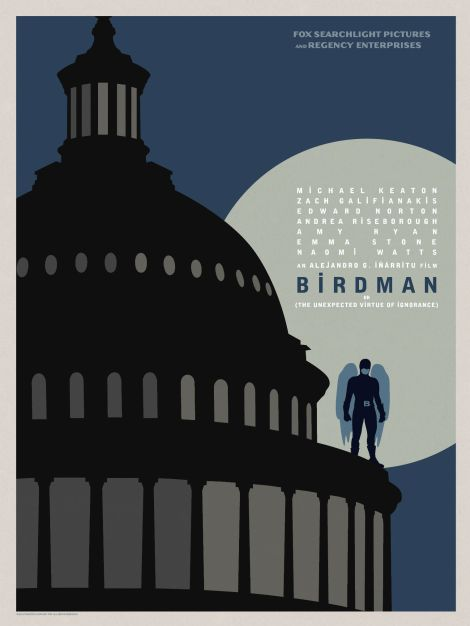 Birdman-Official-Poster-Minimalist 10