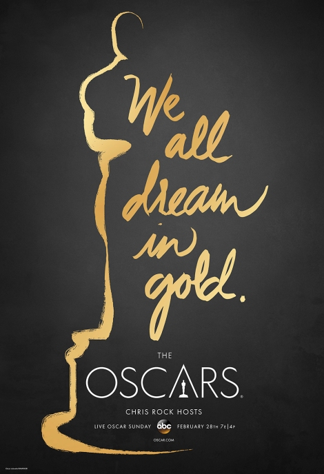 Oscars2016 poster