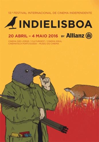 IndieLisboa'16 cartaz