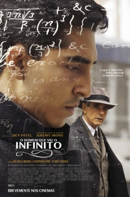 O Homem Que Viu o Infinito_cartaz