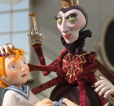 Capitão Morten e a Rainha das Aranhas